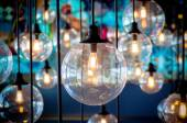 Vintage Lighting decor — Stock Photo
