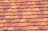 Red brick wall for background — Stock Photo