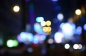 Night bokeh for Christmas background — Stock Photo