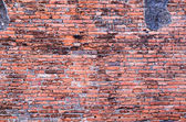 Background of old brick wall texture — Stock Photo