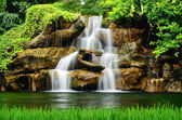 Artificial waterfall — Stock Photo