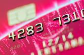 Part of credit card for business background — Stock Photo