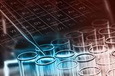 Laboratory test tubes — Stock Photo