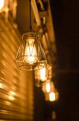 Vintage verlichting decor — Stockfoto