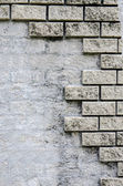 Brick wall fragment for background — Stock Photo