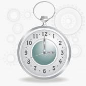 Stary zegar stylu — Wektor stockowy