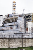 Chernobyl Nuclear Power Plant unit 4 — 图库照片