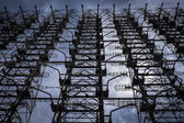 "Radar system array ""Duga"" in Chernobyl — ストック写真"