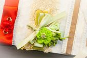Colored Wedding invitation — Stockfoto
