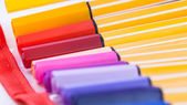Case of colored pens — Foto Stock