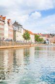 Colored Danish Homes  — Stock Photo