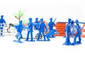 Policial de brinquedos — Fotografia Stock