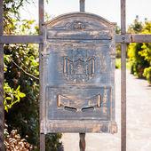 Letter box wrought iron — Stock Photo