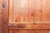 Texture of wooden door — Stock Photo