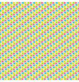 Bright mosaic seamless pattern — Stock Vector