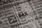 German Stock Index Macro Concept — Foto de Stock