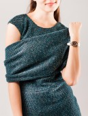 Studio shot of fashionable woman — Stockfoto