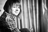 Young teenager girl, indoors shoot — Stock Photo