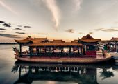 Summer Palace of Emporers in Beijing China — Stock Photo
