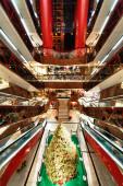 Shopping mall in HongKong — Stock Photo