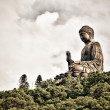 Tian Tan Giant Buddha in HongKong — Stock Photo #57113473