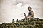 Tian Tan Giant Buddha in HongKong — Stock Photo