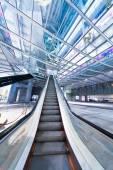 Escalator at Subway Station, Hong Kong, China — Stock Photo