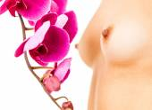 Breast care concept — Stock Photo