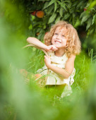 Portrait of beautifu young girl — Stock Photo
