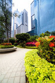 Arquitectura de hong kong. — Foto de Stock