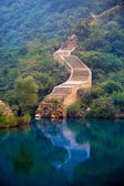 Photos from the walk on the Great Wall — Stock Photo
