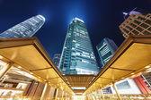 Hong Kong at Night — Stock Photo