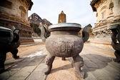 Pagodas on the site of Fahua Temple — Stock Photo