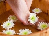 Bath for feet — Stock Photo
