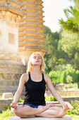 Meditation — 图库照片
