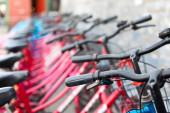 Rent A Bike — Stock Photo