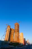 Skyscrapers in Beijing, China — Stock Photo