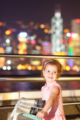 Young girl in HongKong. — Stock Photo
