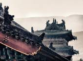 Shaolin temple, which where the Shaolin kung Fu were originated, Henan province, China. — Stock Photo