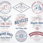 Постер, плакат: Bicycle builders set 2 colored