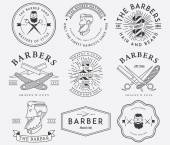 Barber style — Stock Vector