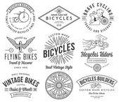 Bicycle builders set 2 — Stock Vector