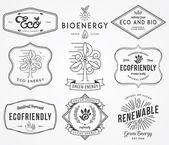 Bio and Eco Energy 2 — Stock Vector