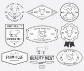 Quality beef meat 2 — Stock Vector