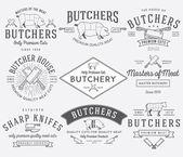 The butcher bundle 2 — Stock Vector