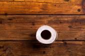 Rolo de papel higiênico — Foto Stock
