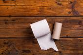 Toilet paper roll — Stock Photo