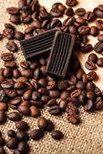 Coffee & chocolate — Stock Photo