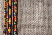 Texture with beads — Foto Stock