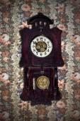 Old pendulum clock — Photo